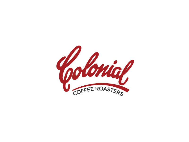 Logo clean up Colonial Coffee