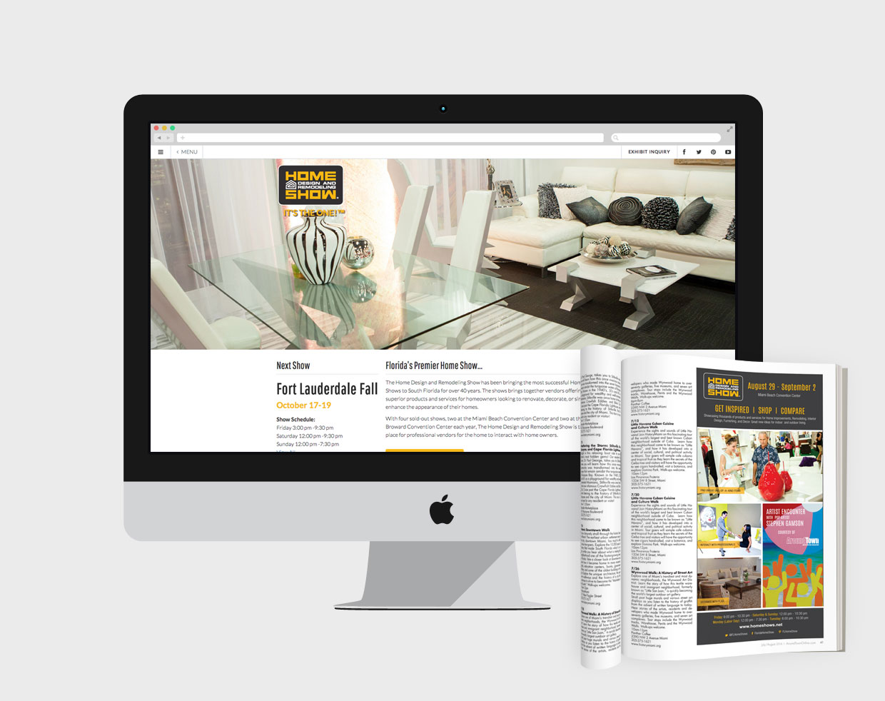 home design and remodeling show web design