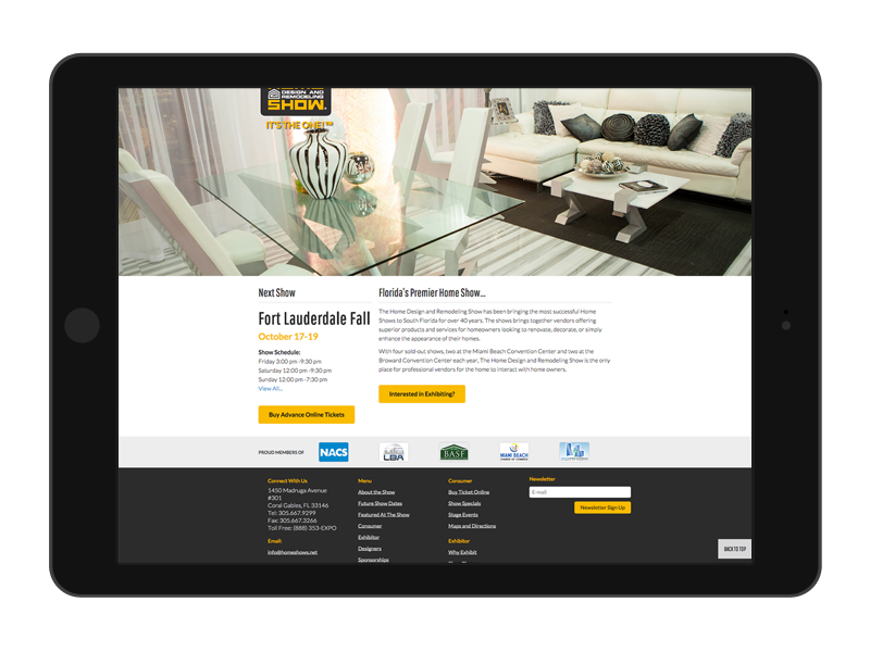 responsive web design home design and remodeling show