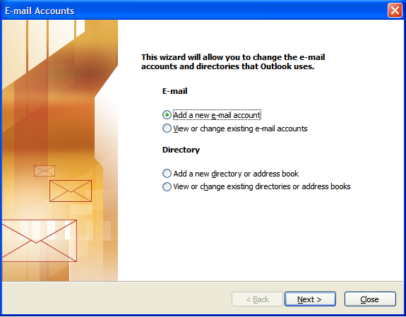 outlook configuration